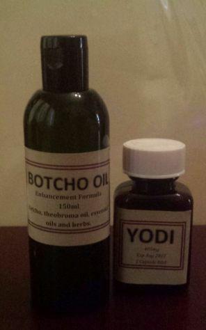 Yodi pills and botcho oil